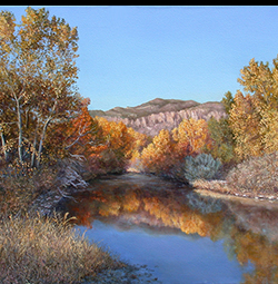 gila river painting